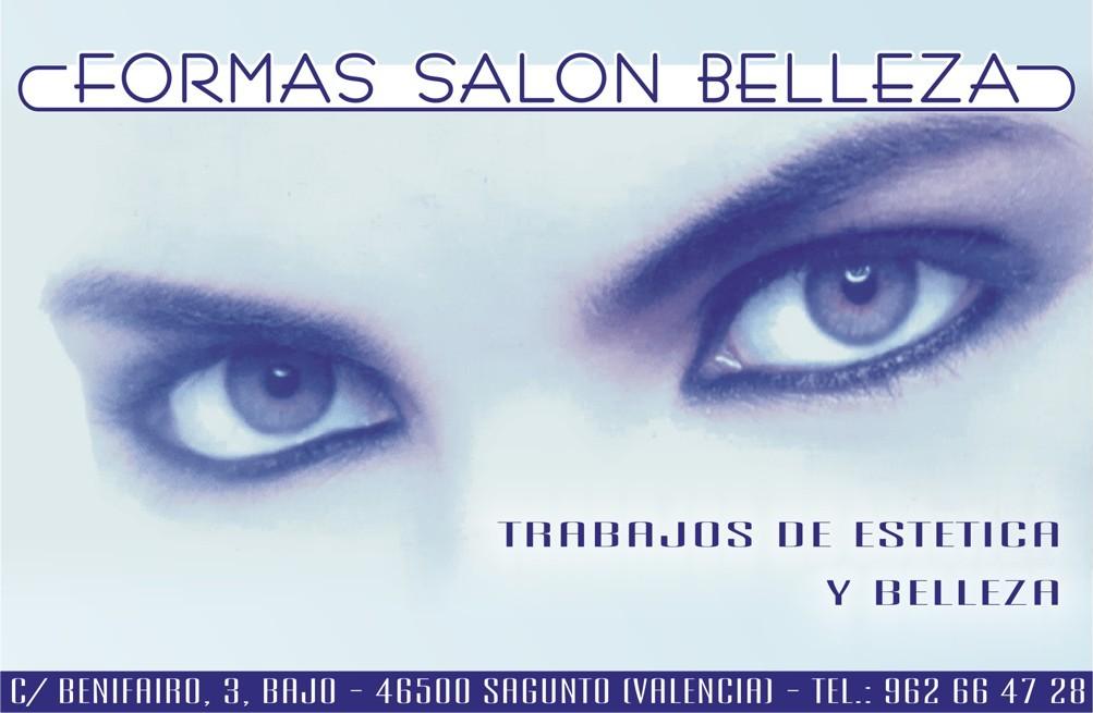 Diseño de anuncio para Formas Salón Belleza