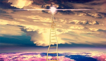 Photomontage Stairway to heaven
